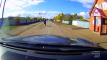 Hilariously Stupid Accident    RUSSIA (3 Wheeler Motorcycl