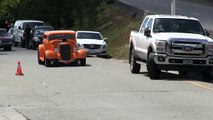 Street sound of Rat Rods,Hot Rods and street machines, accelerations and