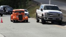 Street sound of Rat Rods,Hot Rods and street machines, accelerations and bu