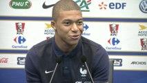 Foot - Bleus : Mbappe «J'ai rêvé de Zidane joueur, pas de Zidane l'entraîneur»