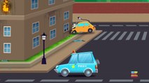 Emergency vehicles   learn vehicles   cars cartoons   video