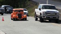 Street sound of Rat Rods,Hot Rods and street machines, accelerations and b