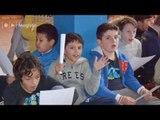 Chants du SUA : répétition des petits Agenais  (Created wit