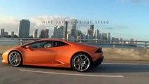 Lamborghini Huracan Spyder Test Drive LOUD Accelerations Downshifts & Revs at Lamborghini