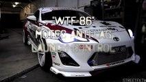 WTF86 MoTeC Antilag tuning & FLAMES! 550hp Big Single Turbo Toyota 86 (BRZ Scion F
