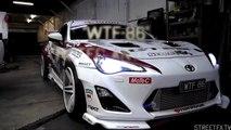 WTF86 MoTeC Antilag tuning & FLAMES! 550hp Big Single Turbo Toyota 86 (BRZ Scion