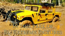 RC Muddy Truck 4x4 — Hummer H1 Stuck in The MUD Part One — RC Extreme P