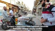 Syrians mark Ramadan festivities in rebel-held Homs province