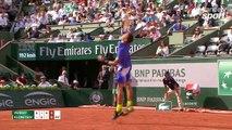 Roland-Garros 2017 : Andy Murray finit d'épuiser Kuznetsov d'un amorti extraordinaire (6-4, 4-6, 6-2, 6-0)