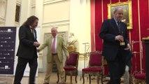 Tomás Marco recibe el premio 'Tomás Luis de Victoria'