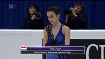 Ivett Toth - Free Skating - 2016 European Figure Skating Cha