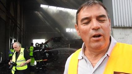 FEU A NOIDANS-LE-FERROUX: CA AURAIT PU ETRE PIRE