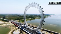 New Chinese Ferris Wheel Design Has No Spokes... And Wi-Fi