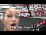 Robert Garcia Laughs at SnowQueenLA's Haters - EsNews Boxing