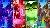 Kids cartoons My Talking Angela vs Talking Tom and Subway surf Colors Level 27 - animated series,Cartoons animated anime game 2017