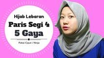 Paris Segi Empat Untuk Lebaran Simple 5 Gaya #NMY Hijab Tutorials