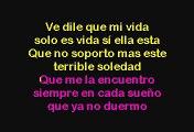 Alex Bueno - Que Vuelva (Karaoke)