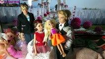 Câu Chuyện Đám Cưới Barie Và Ken Phần 1 - funny kids toys with chi cau vong - [Vui Chơi Vớ