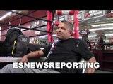 Robert Garcia on ANTHONY JOSHUA he's a big motherfucker - EsNews Boxing