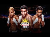 Pinoy Pride 33 FACE OFF & WEIGH IN's - EsNews Boxing
