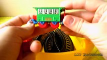 TRAINS FOR CHILDREN VIDEO: Wind up Train Choo Choo Colorful Trains Change Colors Toys Revi