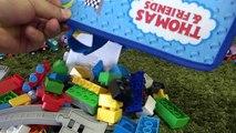 Wooden Train Thomas toy MEGA BLOKS Thomas & Gordon Sodor Speed Railway Toy