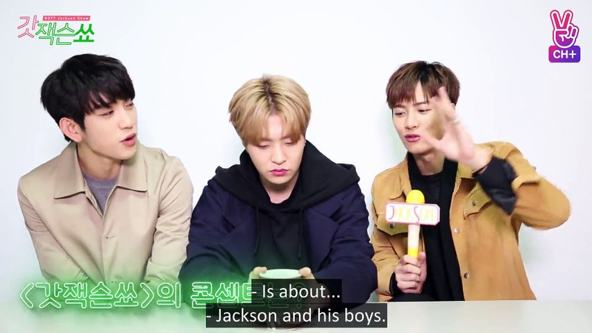 GOT7 Jackson Show EP01 [ENG SUB]