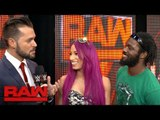 Sasha Banks and Rich Swann are ready to dance at Extreme Rules - Exclusive, May 29, 2017