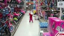Kid Test Drives Cars at ToysRUs - Lana3LW