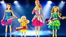 Play doh barbie dress up Barbie Chelsea Skipper Stacie play doh princess dresses