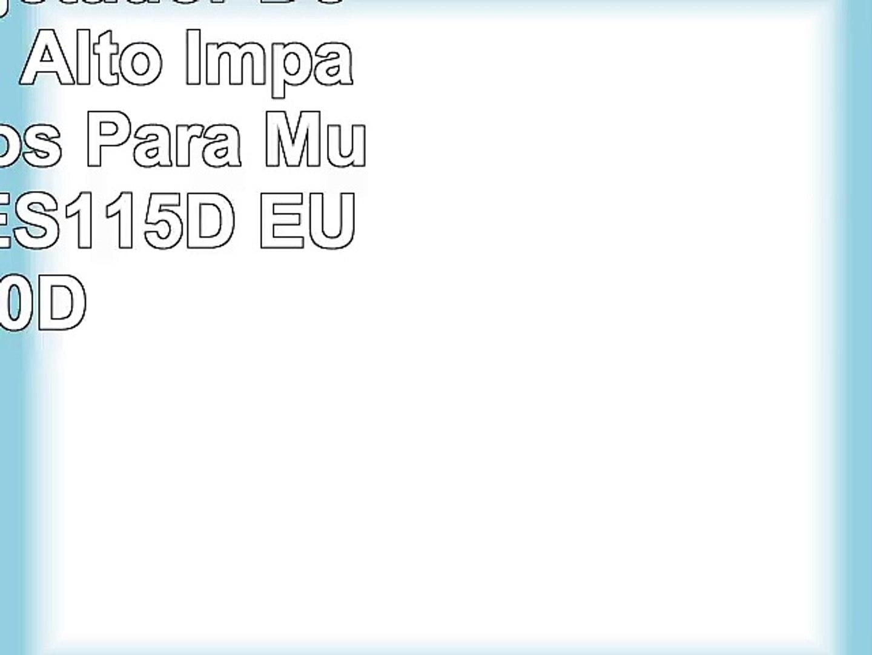 La Isla  Sujetador Deportivo de Alto Impacto Sin Aros Para Mujer Negro ES115D EU 100D