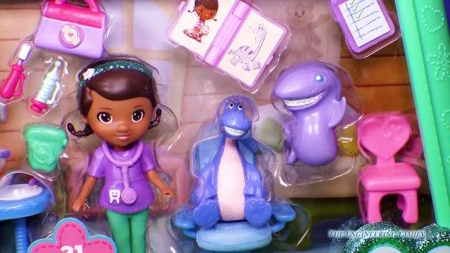 DOC MCSTUFFINS Disney Jr Doc McStuffins and Mr Chomp YouTube Toy Review