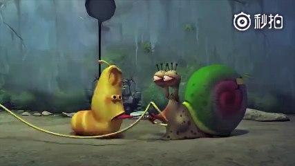 搞笑蟲子:終於知道蝸牛為什麼走的慢了!_搞笑