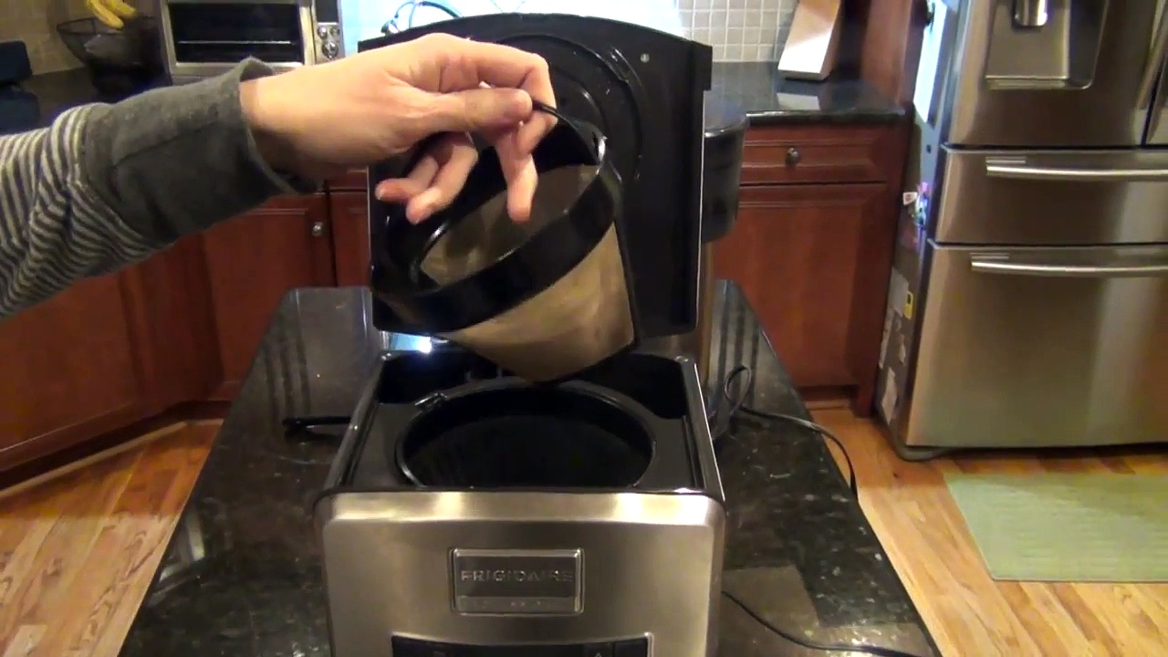 Frigidaire Professional Thermal Carafe Coffee Maker Comparison with A Bunn