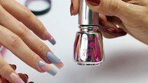 Acrylic Nails with Royal Gel Decorations - Step-By-Step Acrylic Nail Art Video Tutorial