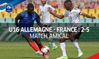 U16 : Allemagne-France (2-5), le résumé