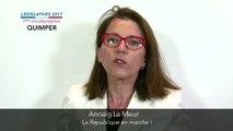 Législatives 2017. Annaïg Le Meur : 1ere circonscription du Finistère (Quimper)