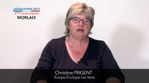 Législatives 2017. Christine Prigent : 4e circonscription du Finistère (Morlaix)