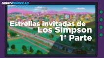 Estrellas invitadas de Los Simpson Parte 1