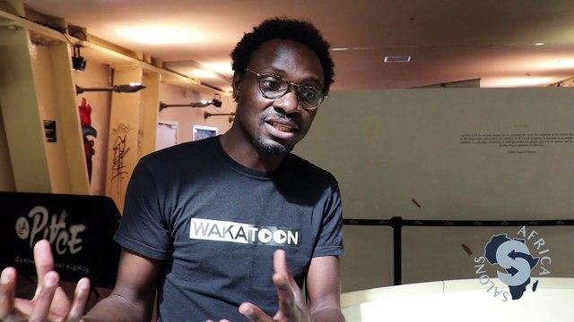Interview vidéo Pierrick Chabi fondateur de Wakatoon - Par Africa Salons