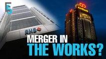 EVENING 5: Ambank & RHB spark merger talk