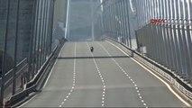 Kenan Sofuoğlu 350 Kilometre Hızla Yavuz Sultan Selim Köprüsü'nden Geçti