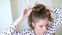 3 minutes chignon facile élégant coiffure coiffures côté été ★ updo