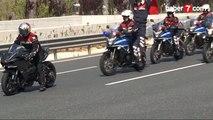 350 km hızla Yavuz Sultan Selim Köprüsü'nden geçti