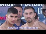 Antonio Orozco vs Humberto Soto WEIGH IN & FACE OFF - EsNews Boxing