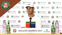 Roland Garros 2017 : 2T conférence de presse Rafael Nadal