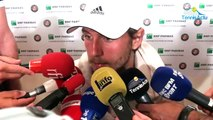 """Roland-Garros 2017 - Lucas Pouille : """"J'aime jouer sur ce Central"""""""