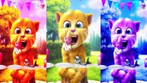 Games for Kids Learn Colors with My Talking Ginger Vs Ginger Cat Video iGame Kids Cartoons,Cartoons animated anime game 2017