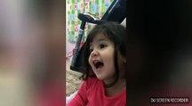 Regardez cette petite fille anglais réciter le coran (trés drôle)d