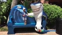 Activités enfants la famille amusement amusement thème voyage sous-marin vacances Ryan toysreview restaurant k